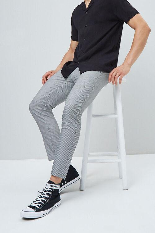 Houndstooth Drawstring Pants, image 1