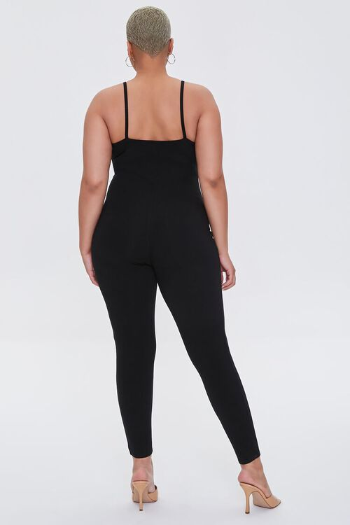 Plus Size Fitted Cami Jumpsuit, image 3