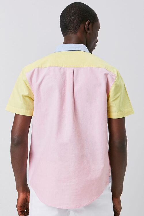 Colorblock Fitted Pocket Shirt, image 3