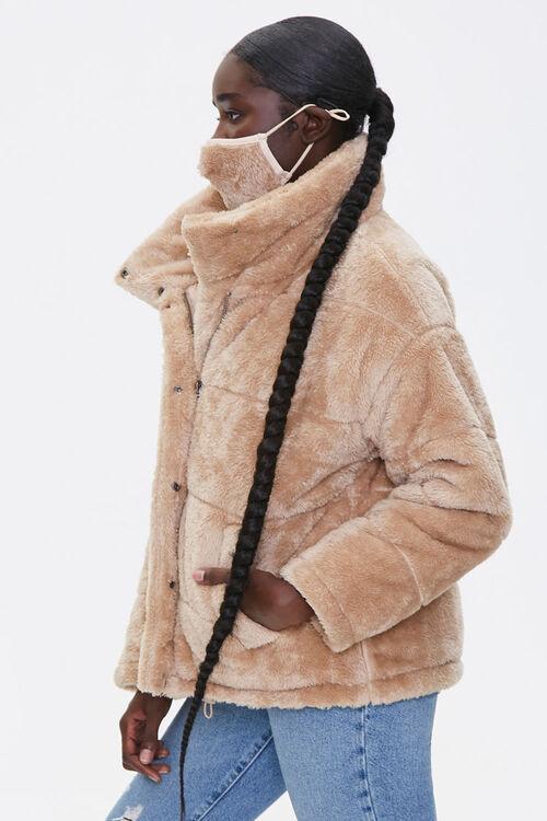 Plush Coat & Face Mask Set, image 2