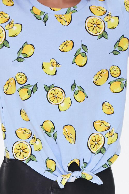 Girls Lemon Print Tee (Kids), image 5