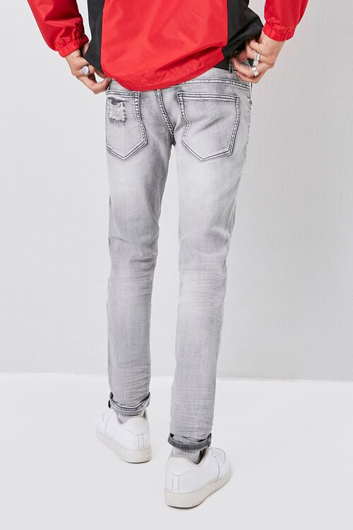 Xray Distressed Skinny Jeans, image 4