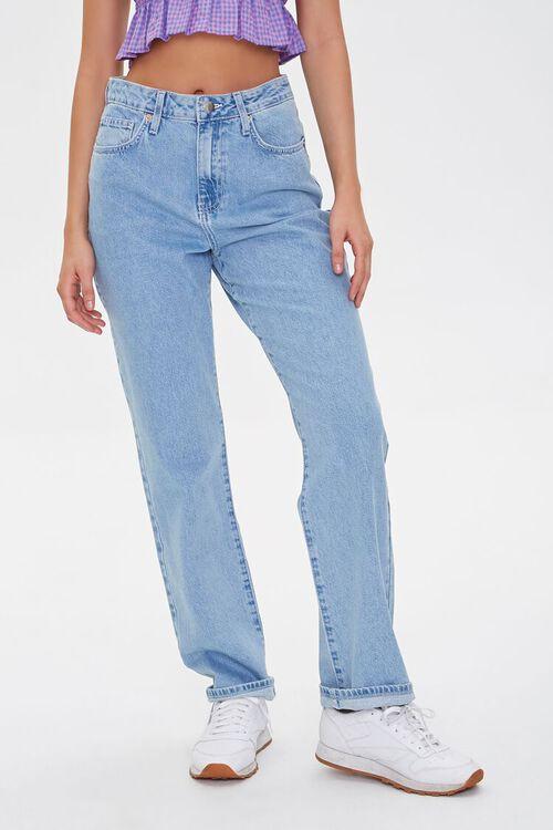 High-Rise Straight-Leg Jeans, image 2
