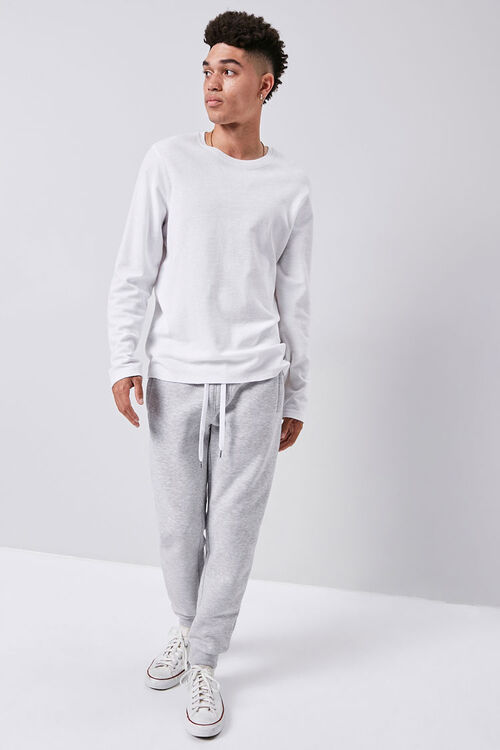 Fleece Drawstring Joggers, image 1