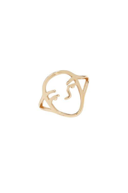 Cutout Face Ring, image 1