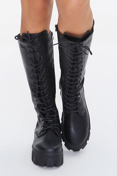 Knee-High Platform Boots, image 4