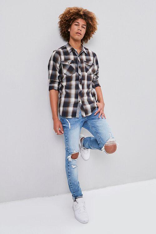 Classic Plaid Flannel Shirt, image 5