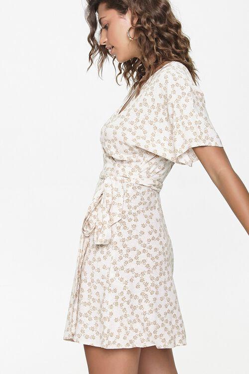 Floral Print Wrap Dress, image 2