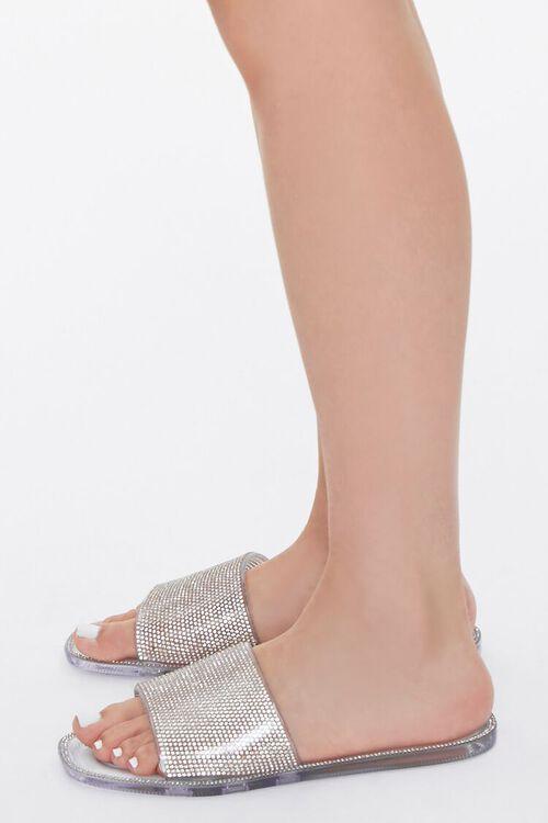 Rhinestone Jelly Sandals, image 2