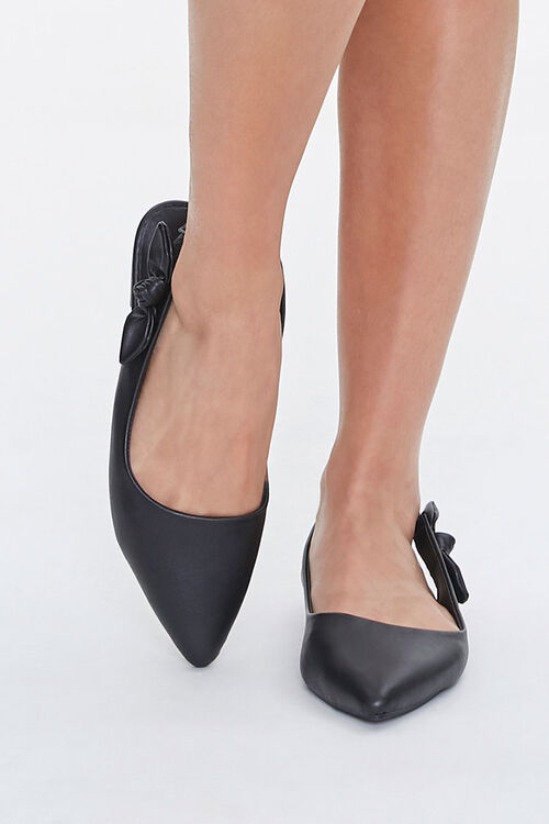 Pointed Slingback Flats, image 4