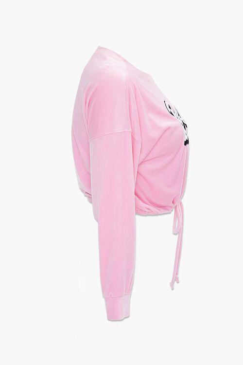 Plus Size Velour Barbie™ Pullover, image 2