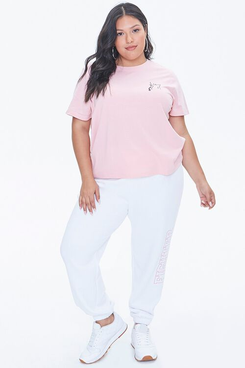 Plus Size Stand Up To Cancer Fight Like A Girl Tee, image 4