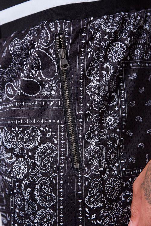 Bandana Print Drawstring Shorts, image 6