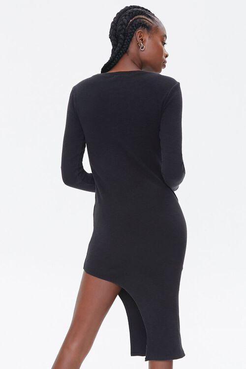 Asymmetrical Bodycon Dress, image 3