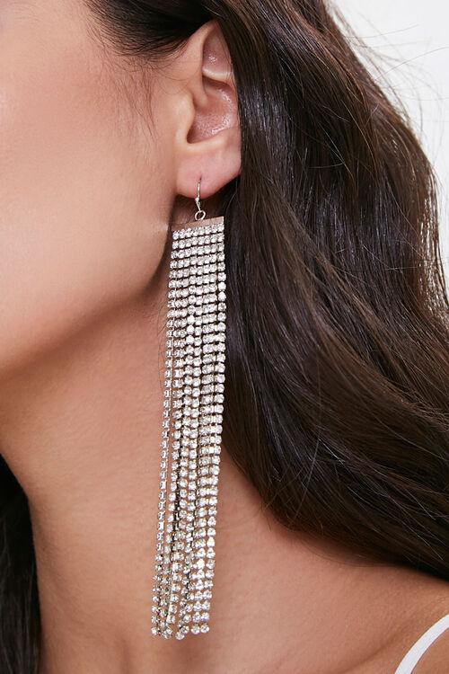 Rhinestone Duster Earrings, image 1