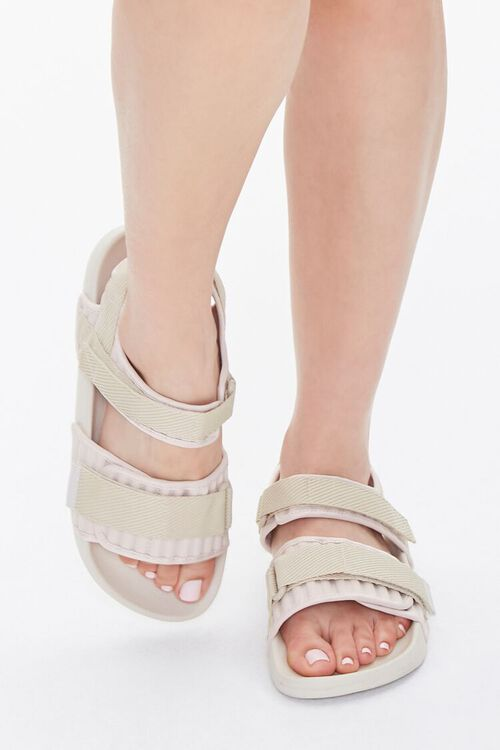 Recycled Adjustable Caged Sandals, image 4
