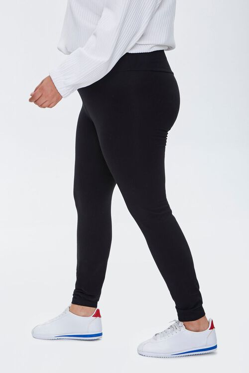 Plus Size High-Rise Long Leggings, image 3