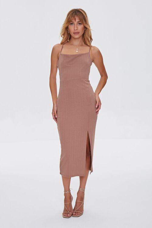 Lace-Back Bodycon Dress, image 4
