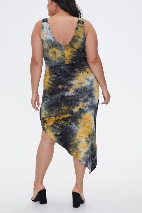 Plus Size Tie-Dye Tulip Dress, image 3