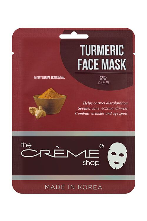 RED Turmeric Face Mask, image 1