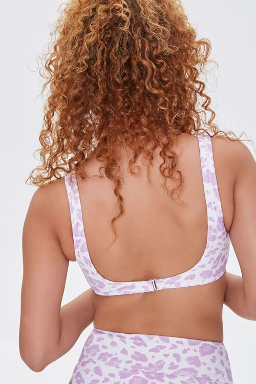 Leopard Print Princess Bikini Top, image 3