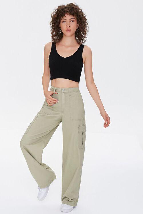 Straight-Leg Cargo Pants, image 5