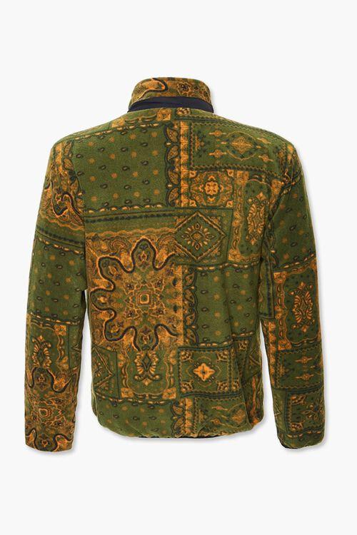 Paisley Fleece Zip-Up Jacket, image 3