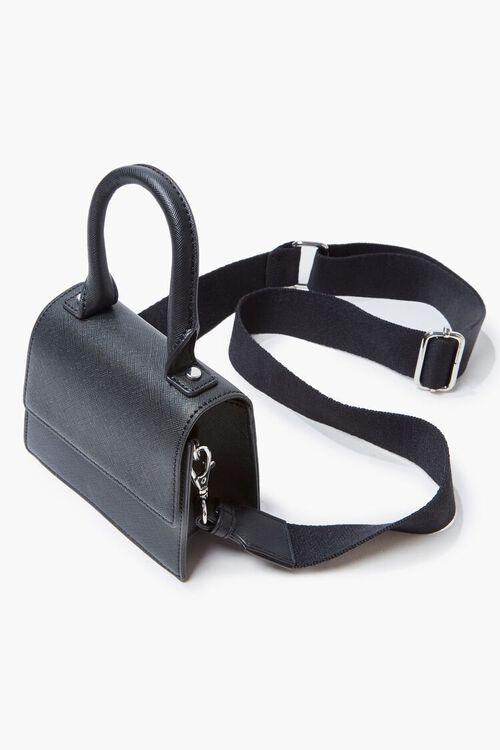Flap-Top Crossbody Bag, image 3