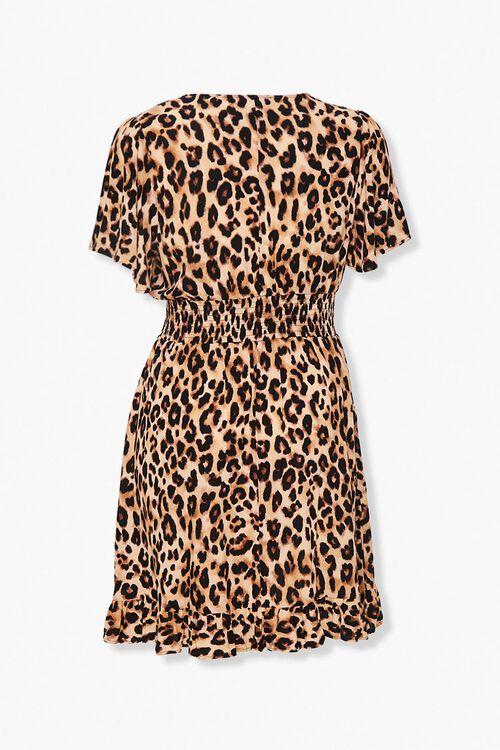 Plus Size Leopard Print Dress, image 2