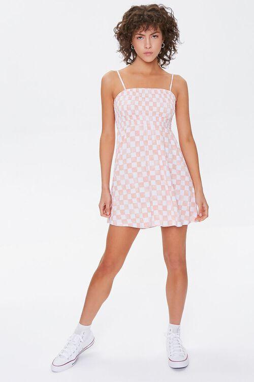 Checkered Mini Dress, image 4