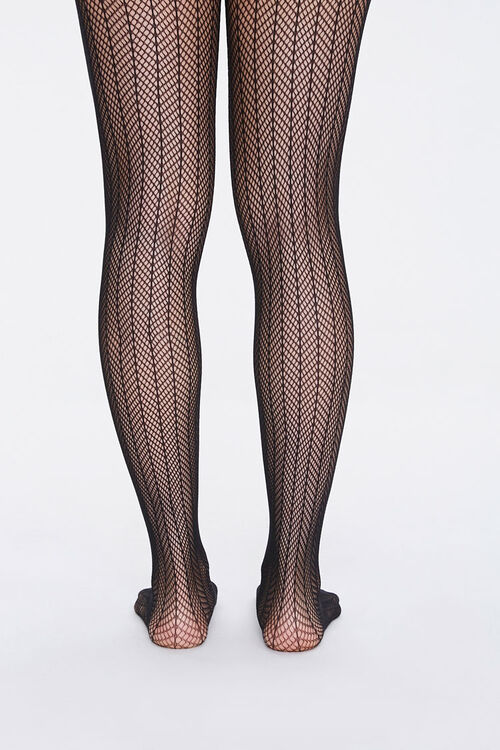 Netted Chevron Tights, image 3