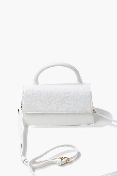 Structured Flap-Top Crossbody Bag, image 5