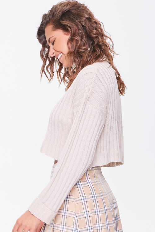 Ribbed Turtleneck Sweater, image 2