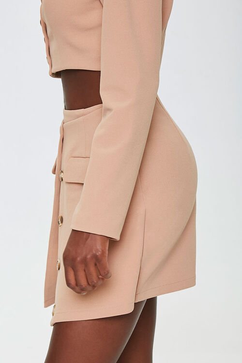 Button-Down Overlay Skirt, image 2