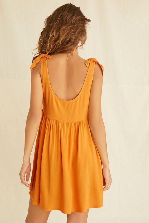 Knotted Fit & Flare Dress, image 3