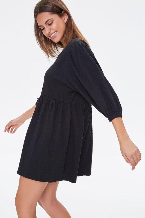 Textured Knit Mini Dress, image 1
