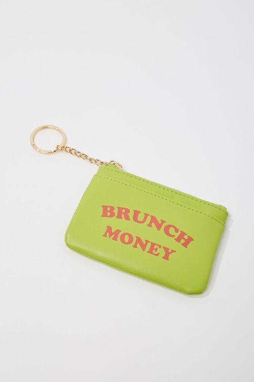 Brunch Money Graphic Coin Purse, image 1