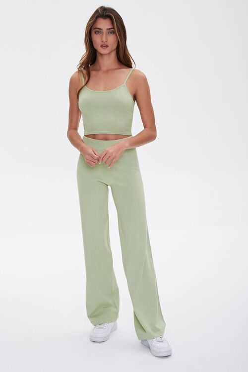 High-Rise Wide-Leg Pants, image 1