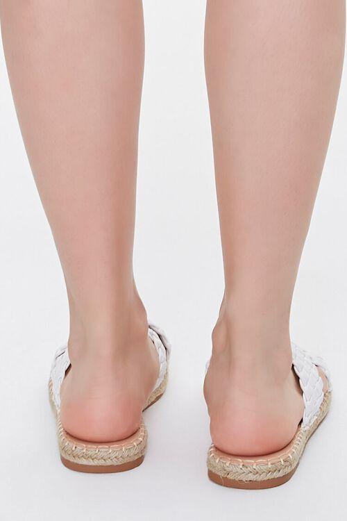 Crisscross Espadrille Flatform Sandals, image 3