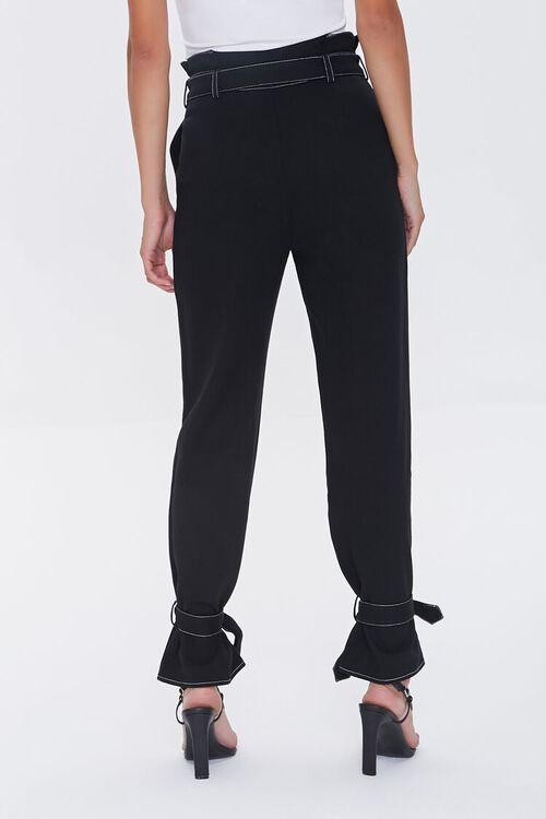 Paperbag Ankle-Tie Pants, image 4