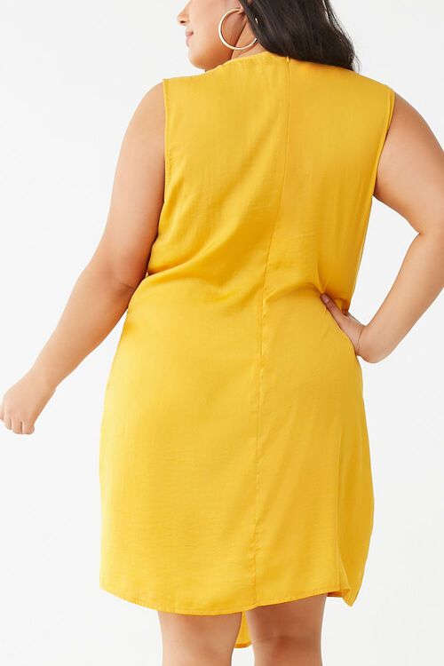Plus Size Missguided Sleeveless Mini Dress, image 3