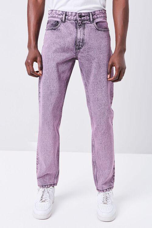 Stonewashed Slim-Fit Jeans, image 2