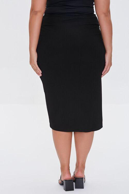 Plus Size Tulip-Hem Skirt, image 4