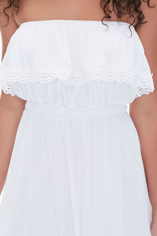 Lace-Trim Maxi Dress, image 5