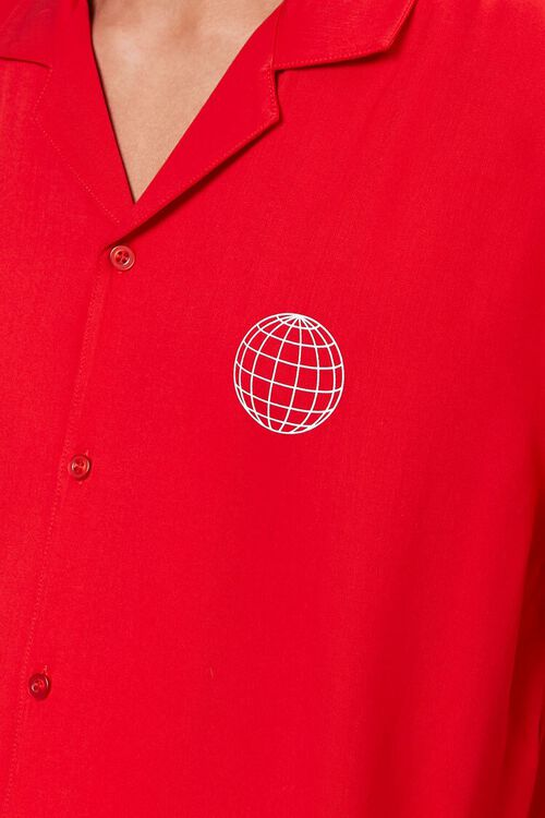 Classic Fit Worldwide Shirt, image 5