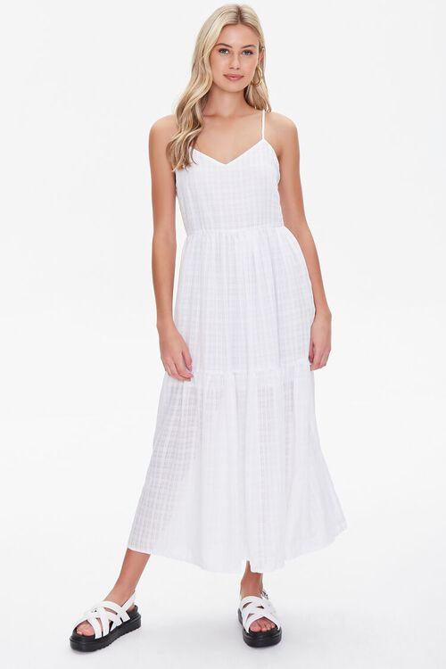 Plaid Midi Dress, image 4