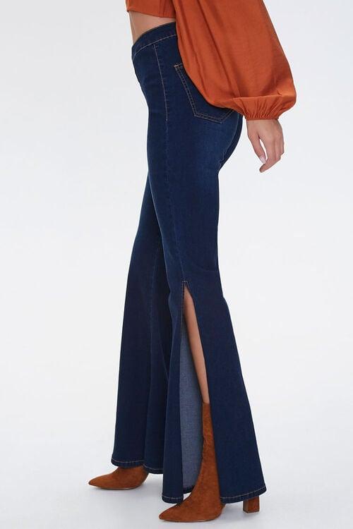 High-Rise Slit Flare Jeans, image 3