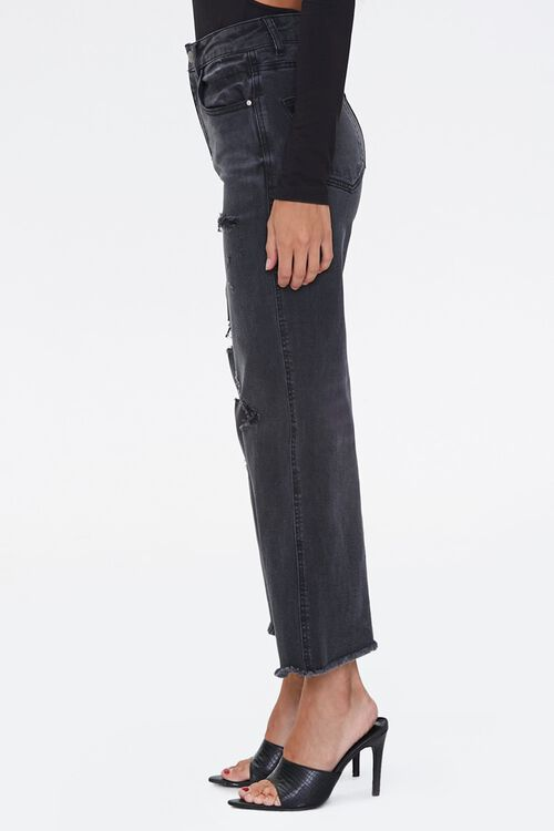 Frayed Flare Ankle Jeans, image 3