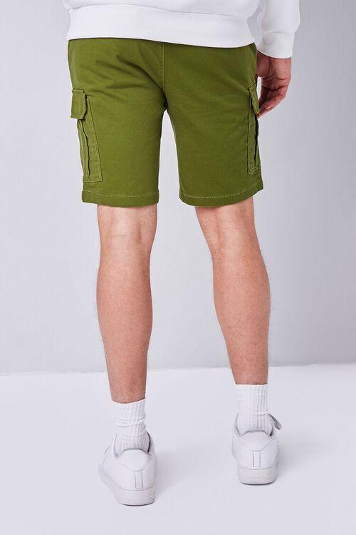OLIVE Drawstring Cargo Shorts, image 4