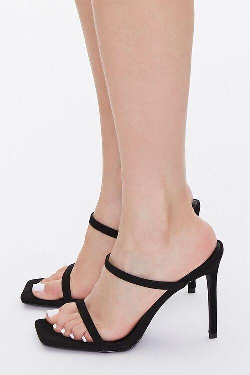 Faux Suede Stiletto Heels, image 2